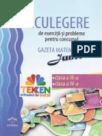 242500190 235254396 Carti Culegere Gazeta Matematica Junior Clasele 3 4 Ed Dph PDF (1)