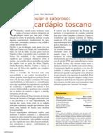 Cardapio Toscano