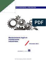 2013 Mantenimientos Legales Obligatorios Tcm5-13999