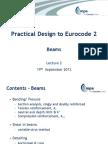 Beam Practical Design to Eurocode 2_Sep 2013