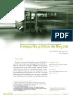 Beneficio Transporte Público