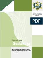 Manual de Mantenimiento de Las Unidades Habitacionales Militares y Navales
