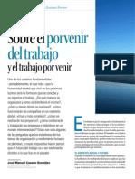 Sobre El Porvenir Del Trabajo y El Trabajo Por Venir Harvard Deusto Business Review Enero 2014