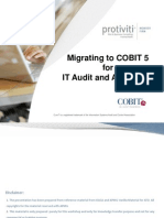 Sudarsan Jayaraman - MIgrating to COBIT 5