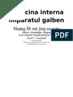 Medicina Interna Imparatul Galben
