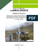 Estudio Hidrológico Margen Izquierdo