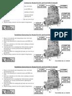 Form4545D Instrucciones Ford
