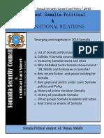 Incumbant Somali Political Affairs (2)