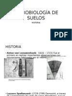 Historia Microbiología de Suelos
