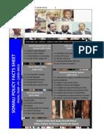 Somali Political affairs Fact Sheet 3
