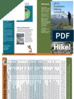 Kodiak Audubon Hike Schedule 2015