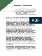 La Cuestión Palestina y El Estado Sionista (Para El SDP) - Antonio Degante