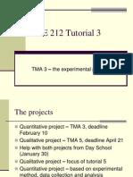 DSE212 Tutorial 3 Quant Proj 2009