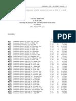 Direktiva 91 414, Konsolid.,2007 - EnG