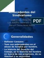 Antecedentes Del Sindicalismo