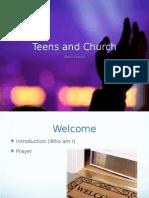 how teens view church