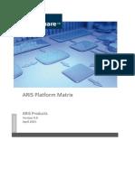 ARIS 9.8 Platform Matrix