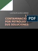 la contaminación por petroleo y sus soluciones