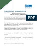 Pesticides Used in Organic Farming-ECPA