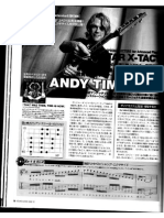 Andy Timmons - Guitar X-tacy
