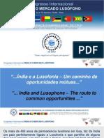 Congresso Internacional Índia e o Mercado Lusófono 2014