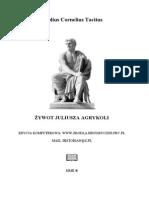 Tacyt - Żywot Juliusza Agrykoli