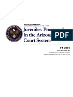 Juveniles Processed in Arizona Justice System 2005