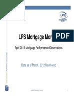Mortgage Monitor April
