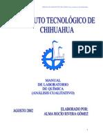 Manual Qui Mica Anal It i CA