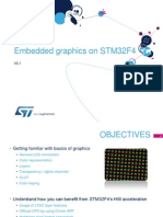 Embedded Graphics on STM32F4