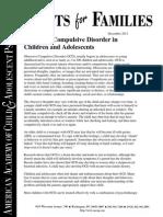 60 obsessive compulsive disorder in children and adolescents
