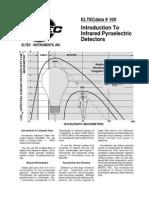 Intro to IR Pyroelectric Detectors