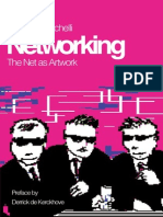 BAZZICHELLI, Tatiana. Networking - The Net as Artwork