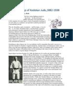 The Beginnings of Kodokan Judo,1882-1938