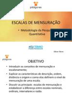 ESCALAS DE MENSURAO