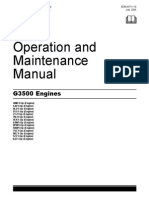 caterpillar 3516c gas engine part manual
