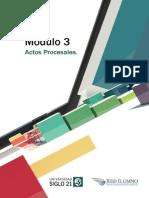 Módulo 3 - Actos Procesales