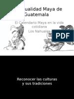 Calendarios Ceremonial Maya