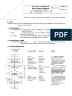 QP Nonconforming Product Sample 2014