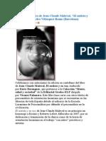 Reseña Del Libro de Jean Maleval.