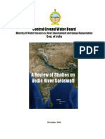 A Review of Studies on Saraswati (Central Ground Water Board, Dec., 2014)