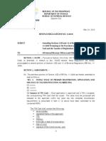RR 05-2010 (Rules on Transfer of Registration