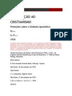 Livro Introducao-ao-cristianismo-Ratzinger.doc
