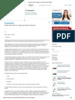 Resumão Direito Tributário - Resumo Direito Tributário