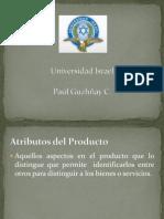 Atributos Del Producto