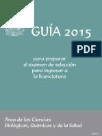 Guía Oficial UNAM 2015