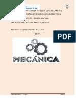 Programa Mecanica I