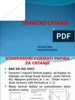 Standardni formati papira za crtanja