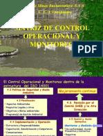 Matriz de Control Operacional