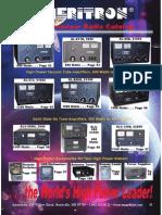 Ameritron 2014 Catalog